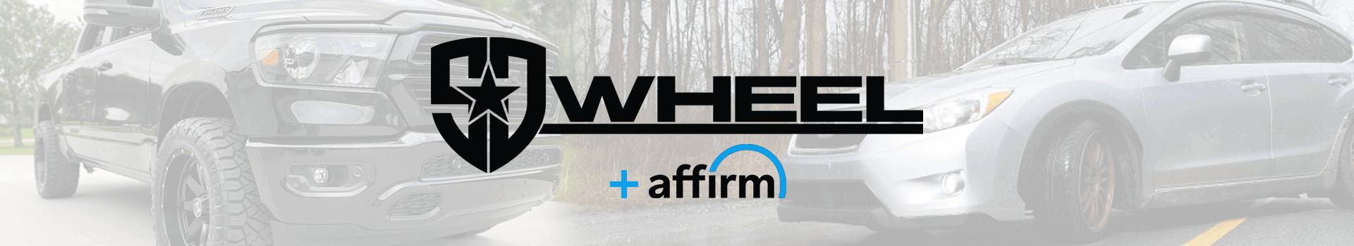 SD Wheel offers financing through Affirm